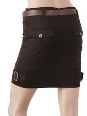 2845-6 Юбка женская, коричневая