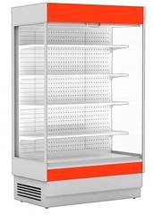 Охлаждаемый пристенный стеллаж CRYSPI ALT_N S 2550  с выпаривателем, 2575х817х2000, с боковинами