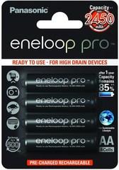 Аккумуляторы Panasonic Eneloop Pro R6/AA 2450mAh (4bl)