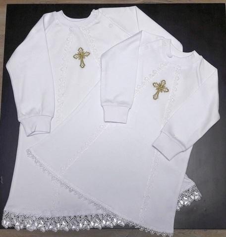 Рубашка для крещения  Колокольчик