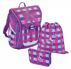 Ранец Step by step BaggyMax Fabby Pink Star 3 предмета