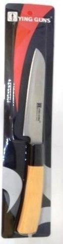 Кухонный нож YG-192   125/25 мм с белой ручкой