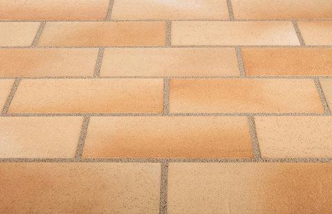 Stroeher, Spaltklinker, beige-bunt, цвет 123, 240x115x18 - Клинкерная тротуарная брусчатка