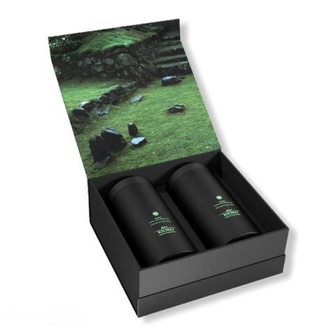 KIOKO TOMIKO ESSENCE 9-2055017 Подарочный набор зелёного чая, 200 г (2х100 г)