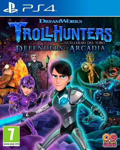 PS4 TROLLHUNTERS: Defenders of Arcadia (русские субтитры)