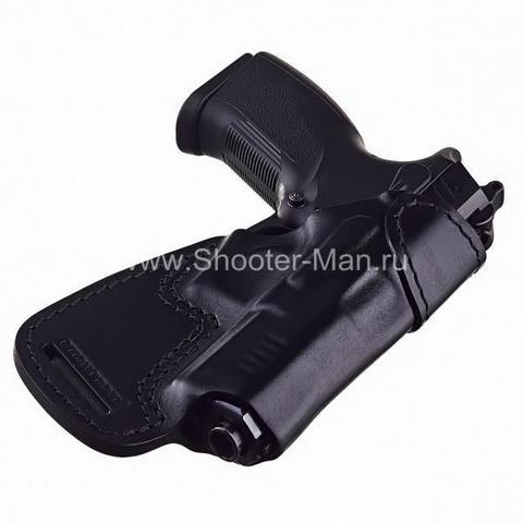 Кобура кожаная для пистолета Grand Power Т 10 и Т 12 поясная ( модель № 10 )