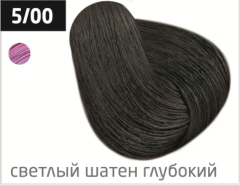 OLLIN performance 5/00 светлый шатен глубокий 60мл перманентная крем-краска для волос