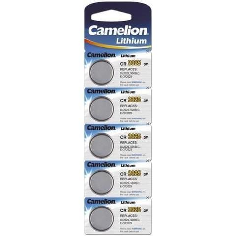 Батарейки Camelion CR 2025 / 5 BL
