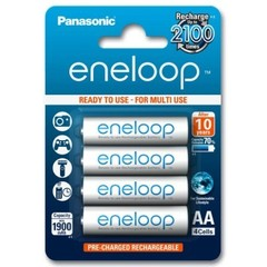 Аккумуляторы Panasonic Eneloop R6 (1900mAh) 1x4 шт.