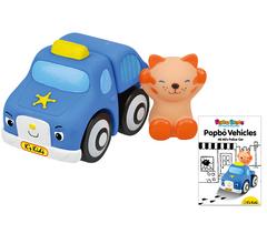 K's Kids Мягкий конструктор Popbo Blocs™ «Полицейская машина и Мими» (KA645)