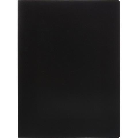 Скоросшиватель пластиковый с пружинным механизмом Attache А4 до 150 листов черный (толщина обложки 0.45 мм)
