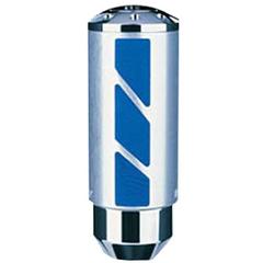 Ручка рычага КПП MOMO Tube Aluminum Leather Blue