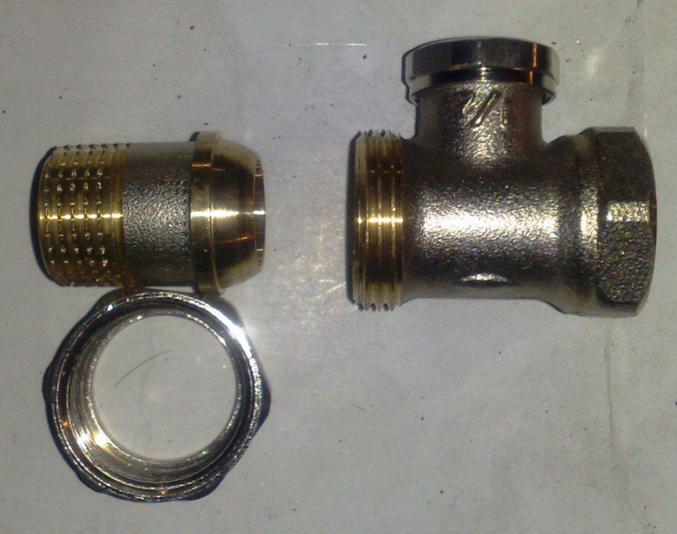Кран регулировочный для радиатора COMAP в разборе