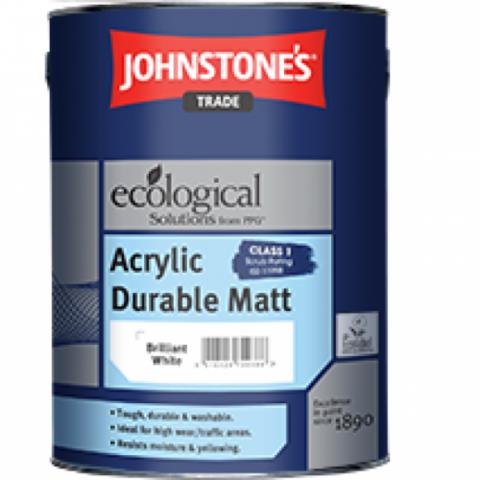 ACRYLIC DURABLE MATT Акриловая высокопрочная краска для стен и потолков