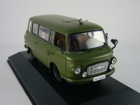 Barkas B1000 Military Ambulance 1964 IST079 IST Models 1:43