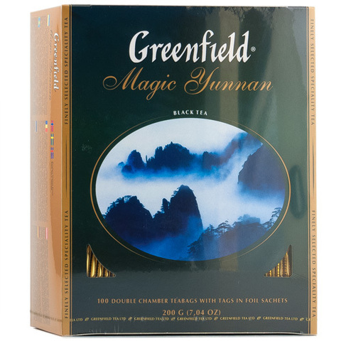 Чай черный Greenfeld Magic Yunnan 100*2г