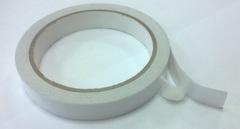 Лента клейкая двусторонняя на бумажной основе 15 мм*10 м