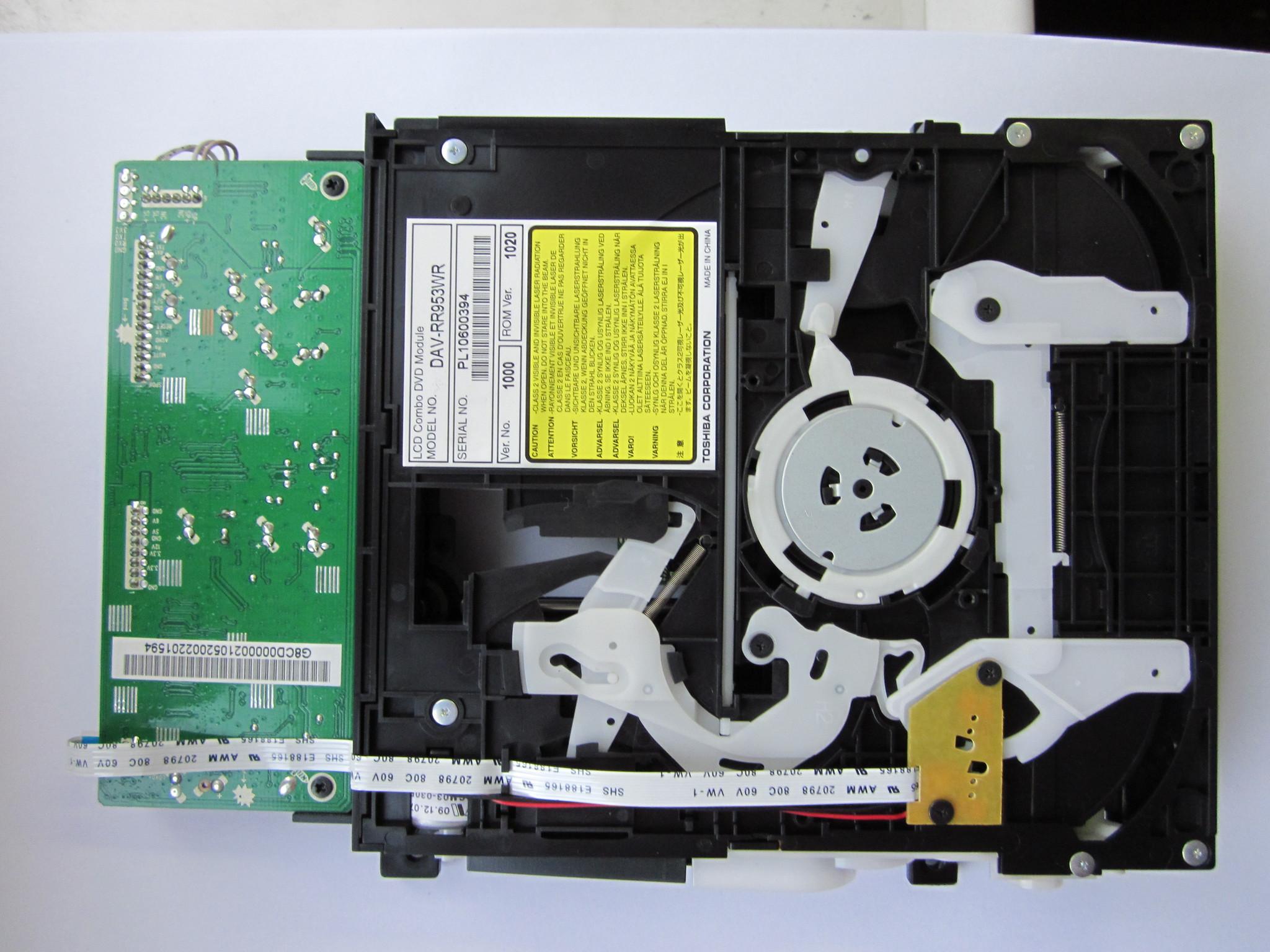 DAV-RR953WR DVD-привод в сборе