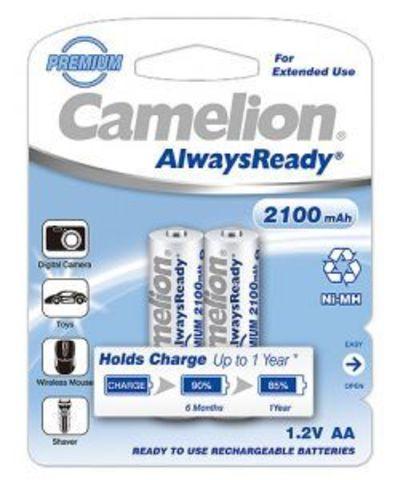 Аккумуляторы Camelion R 6/2bl 2100mAh Ni-MH (Always Ready)
