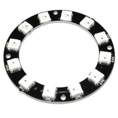NeoPixel Ring (аналог) - кольцо из 12 RGB-светодиодов WS2812B