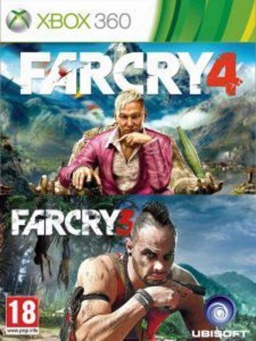 Xbox 360 Far Cray 3 + Far Cry 4 Комплект (русские субтитры)