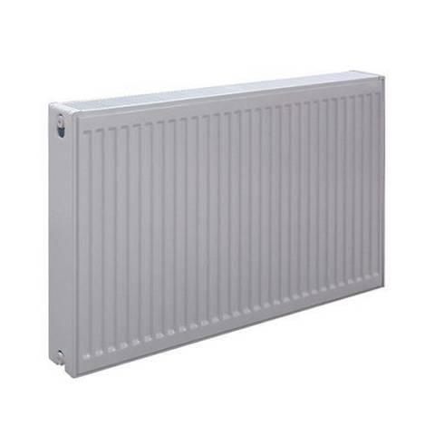 Радиатор панельный профильный ROMMER Ventil тип 22 - 300x400 мм (подключение нижнее, цвет белый)