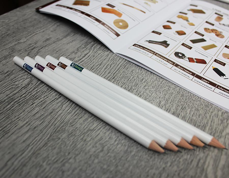 Уф-печать на ручках и карандашах