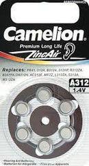 Батарейки Camelion ZA 312 / 6 BL