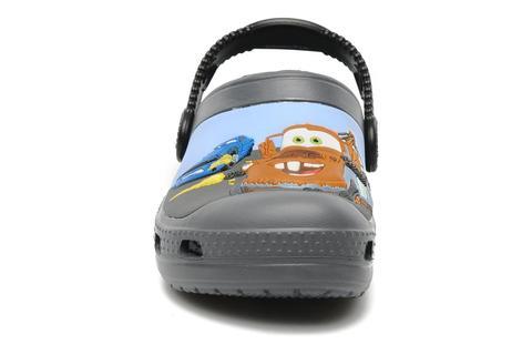 Сабо Крокс (Crocs) пляжные шлепанцы кроксы для мальчиков, цвет серый. Изображение 3 из 7.