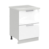 Кухня Капля 3D Шкаф нижний комод СК2 600