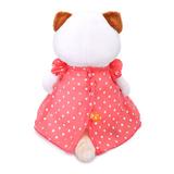 Кошечка Ли-Ли в платье в горошек