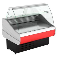 Холодильная витрина  CRYSPI OCTAVA  SN 1500 c полкой,  -6...+6  (выкладка 660 мм)