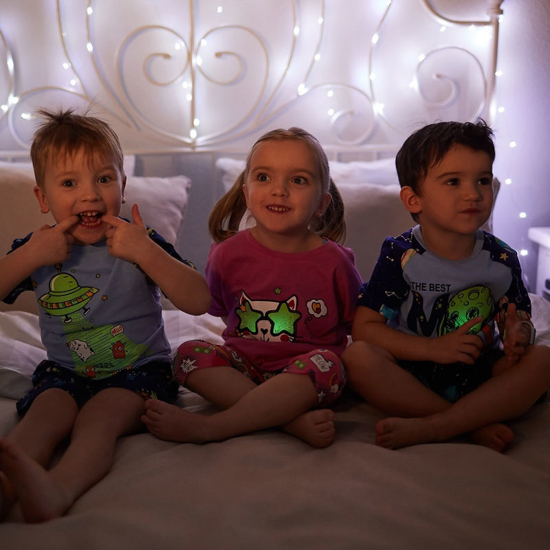 Светящаяся пижама для мальчика