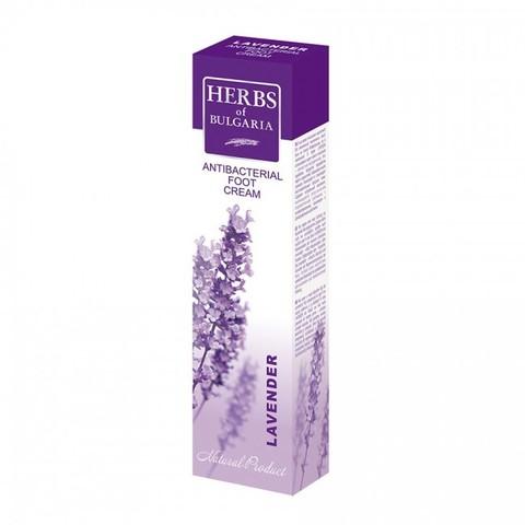 Крем для ног антибактериальный Lavender