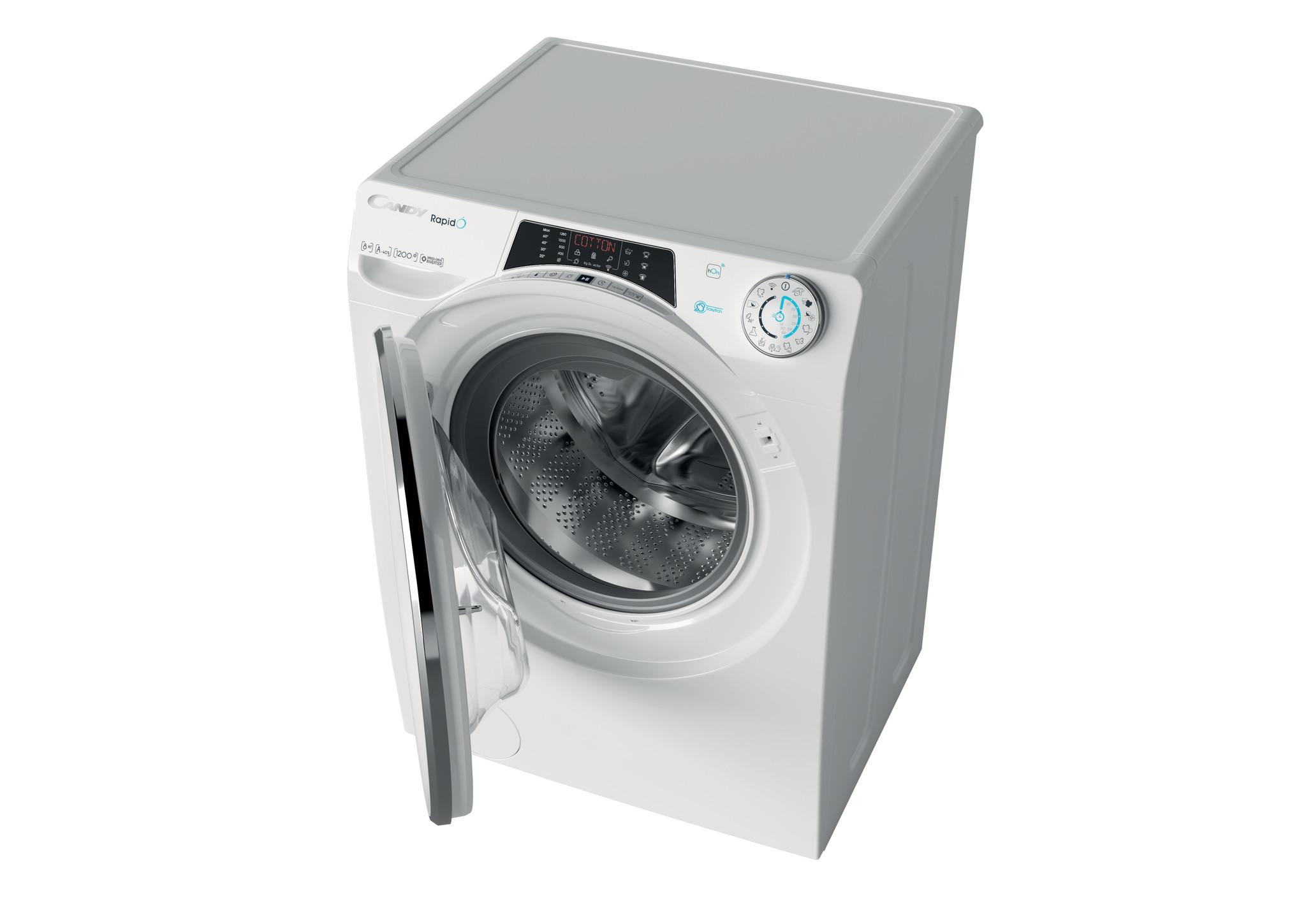 Узкая стиральная машина Candy RapidO RO44 1286DWMC4-07 фото 5