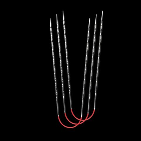 Спицы металлические круговые супергладкие c квадратным кончиком addiCrasyTrioNovel Long
