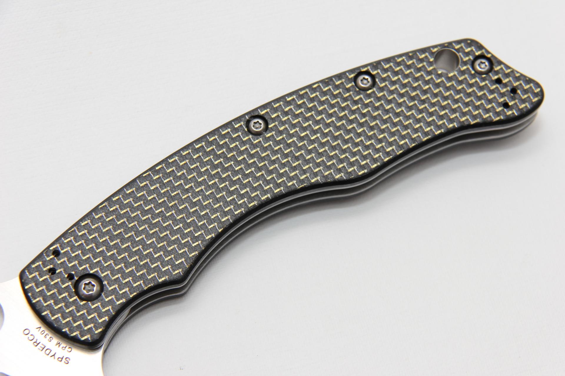 Нож Spyderco C146CFP Szabo - фотография