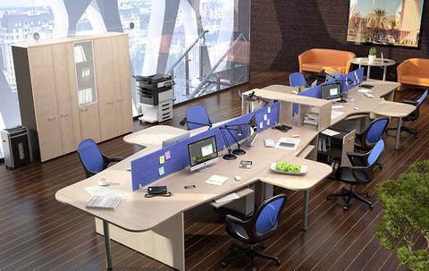 Мебель для персонала Xten (подробное описание)