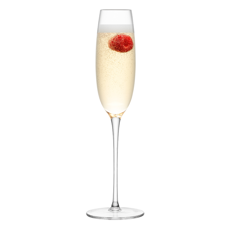 Набор из 4 бокалов-флейт для шампанского LuLu 150-175 мл LSA International G1070-00-301   Купить в Москве, СПб и с доставкой по всей России   Интернет магазин www.Kitchen-Devices.ru