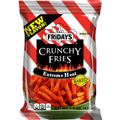 TGI Friday's Crunchy fries Extreme heat супер острые 127 гр