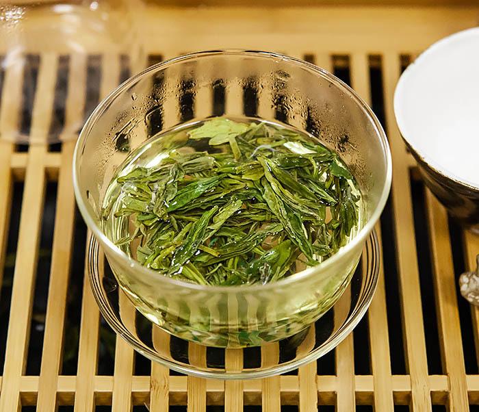 TEA-CH104-2 Зеленый чай Колодец дракона (Лун Цзин Си Ху, сорт «A», 10 гр) фото 09