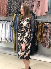 Платье Exxpose Line 0520 три пуговицы палитра