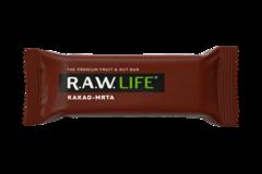 Батончик R.A.W. LIFE Какао-мята  47 гр