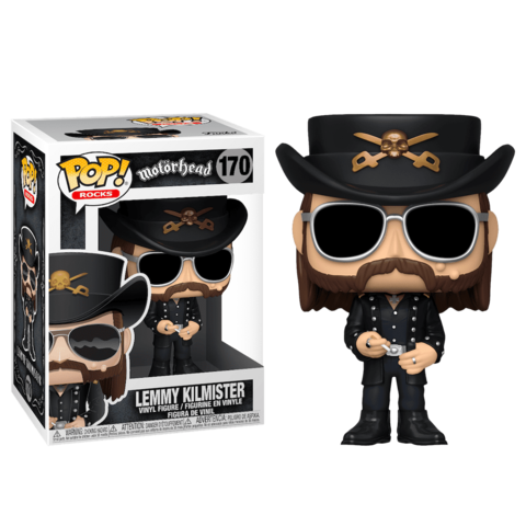 Lemmy Kilmister Motorhead Funko Pop! || Лемми Килмистер