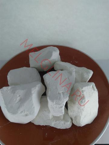 Глина белая азовская каолин
