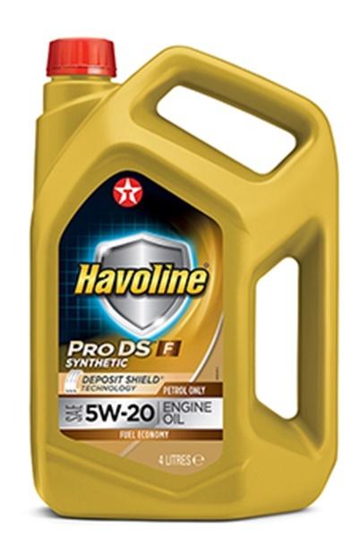 HAVOLINE PRODS F 5W-20 моторное масло TEXACO 4 литра