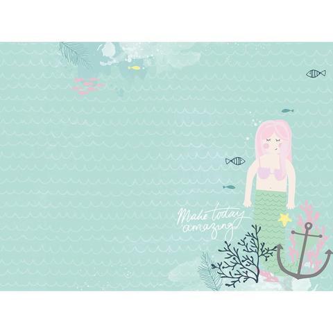 Альбом на кольцах для Life Project Kaisercraft D-Ring Album 30х30. Mermaid