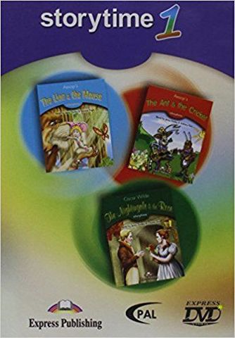 Storytime 1 DVD - сборник мультфильмов