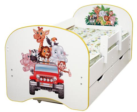 Кровать детская Зоопарк