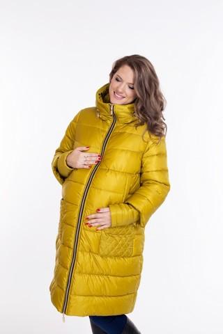 Куртка для беременных 08692 горчичный